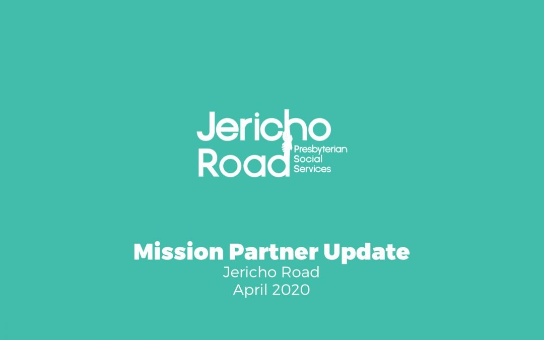 Mission Partner Update: Jericho Road