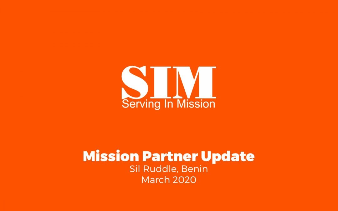 Mission Partner Update: Sil Ruddle, Benin